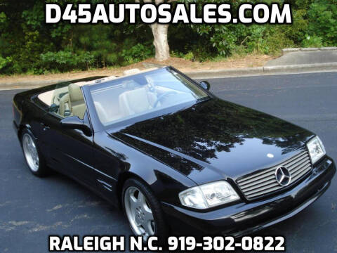 1999 Mercedes-Benz SL-Class for sale at D45 Auto Brokers in Raleigh NC