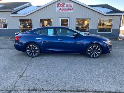 2016 Nissan Maxima for sale at B & B Auto Sales in Brookings SD