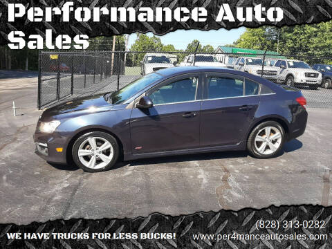 2015 Chevrolet Cruze for sale at Performance Auto Sales in Hickory NC
