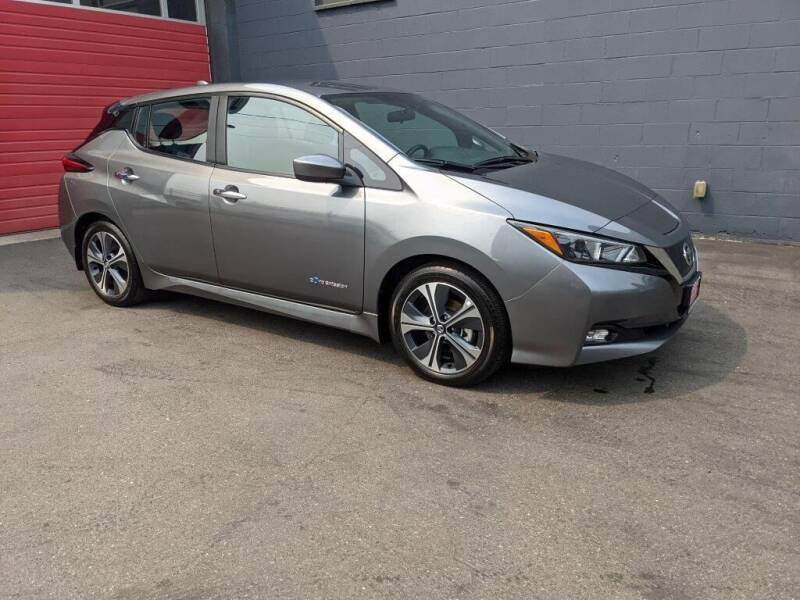 2018 Nissan LEAF for sale at Paramount Motors NW in Seattle WA