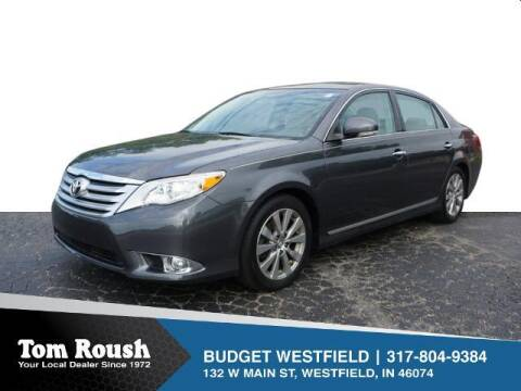 2012 Toyota Avalon for sale at Tom Roush Budget Westfield in Westfield IN