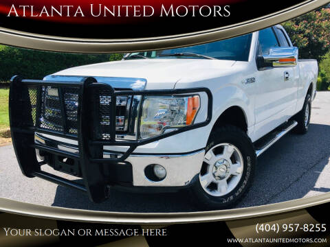 2013 Ford F-150 for sale at Atlanta United Motors in Buford GA