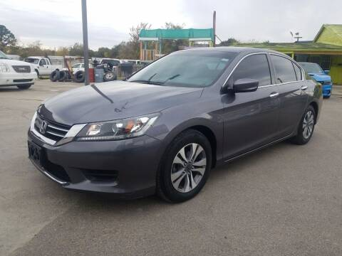 2014 Honda Accord for sale at RODRIGUEZ MOTORS CO. in Houston TX