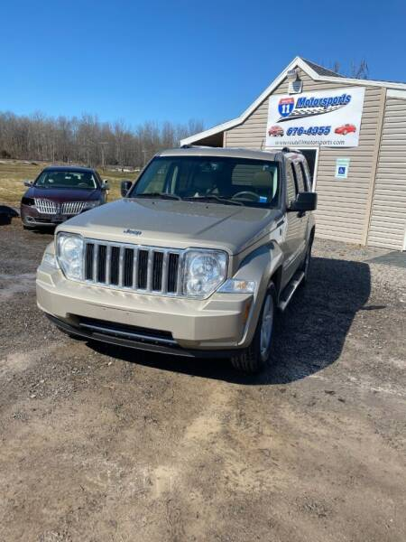 2010 Jeep Liberty for sale at ROUTE 11 MOTOR SPORTS in Central Square NY