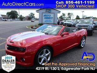 2013 Chevrolet Camaro for sale at Auto Direct Trucks.com in Edgewater Park NJ