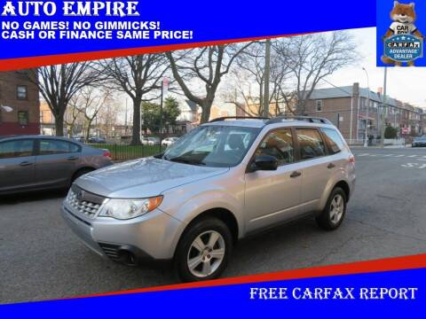 2013 Subaru Forester for sale at Auto Empire in Brooklyn NY