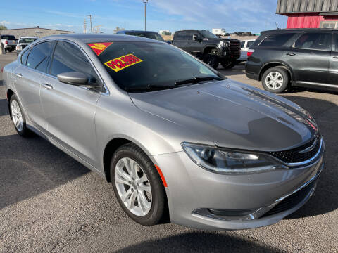 2016 Chrysler 200 for sale at Top Line Auto Sales in Idaho Falls ID