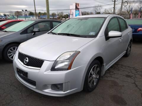 2012 Nissan Sentra for sale at P J McCafferty Inc in Langhorne PA