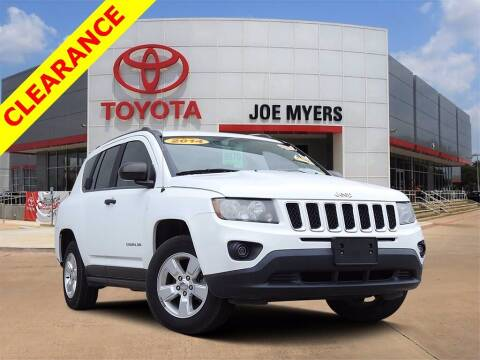 2014 Jeep Compass for sale at Joe Myers Toyota PreOwned in Houston TX
