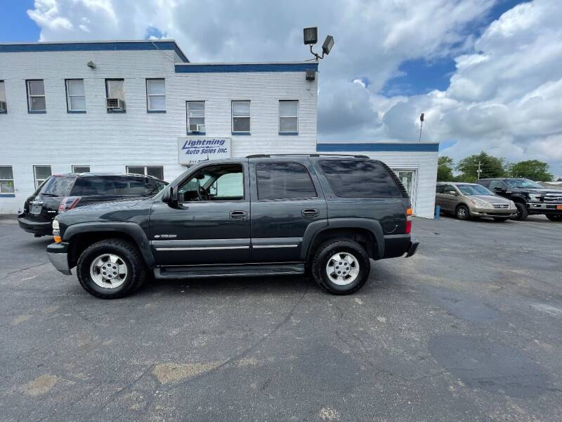 2003 Chevrolet Tahoe for sale at Lightning Auto Sales in Springfield IL
