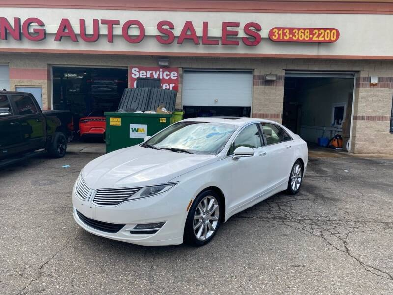 2014 Lincoln MKZ for sale at KING AUTO SALES  II in Detroit MI