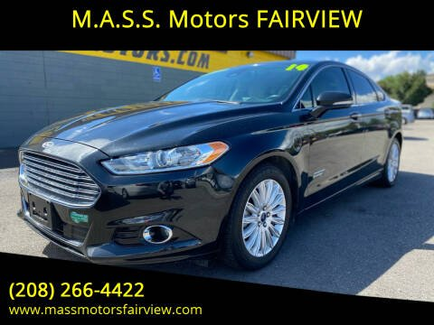 2014 Ford Fusion Energi for sale at M.A.S.S. Motors - Fairview in Boise ID