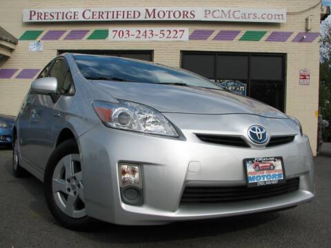 2010 Toyota Prius for sale at Prestige Certified Motors in Falls Church VA