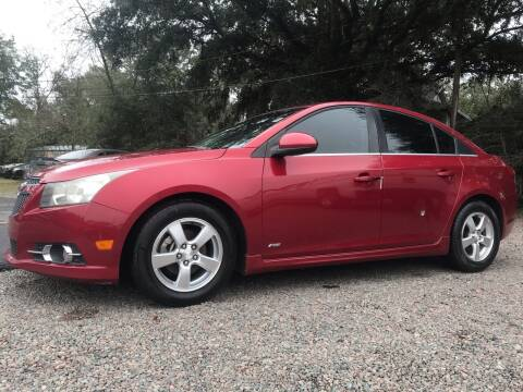 2012 Chevrolet Cruze for sale at #1 Auto Liquidators in Yulee FL