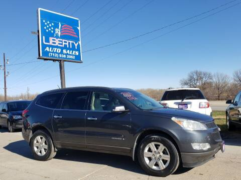 2009 Chevrolet Traverse for sale at Liberty Auto Sales in Merrill IA