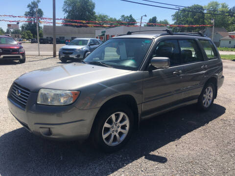 2006 Subaru Forester for sale at Antique Motors in Plymouth IN