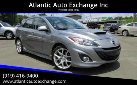 2010 Mazda MAZDASPEED3 for sale at Atlantic Auto Exchange Inc in Durham NC
