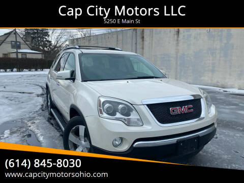 2009 GMC Acadia for sale at Cap City Motors LLC in Columbus OH