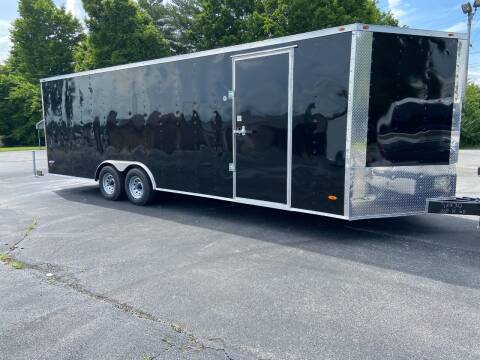 2020 Freedom 8.5 x 24 V-Nose Enclosed Cargo for sale at STOP N GO MOTORS - Enclosed Trailers in Maryville TN