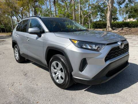 2020 Toyota RAV4 for sale at DELRAY AUTO MALL in Delray Beach FL