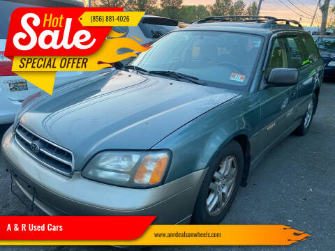 2002 Subaru Outback for sale at A & R Used Cars in Clayton NJ