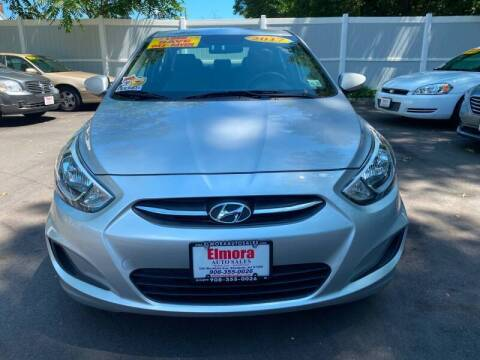 2017 Hyundai Accent for sale at Elmora Auto Sales in Elizabeth NJ