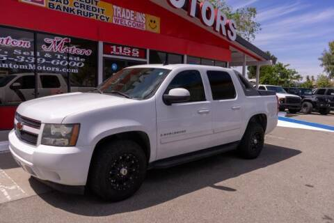 2007 Chevrolet Avalanche for sale at Phantom Motors in Livermore CA