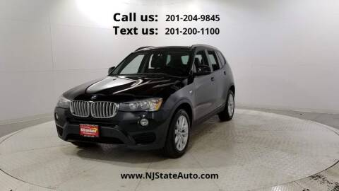 2017 BMW X3 for sale at NJ State Auto Used Cars in Jersey City NJ