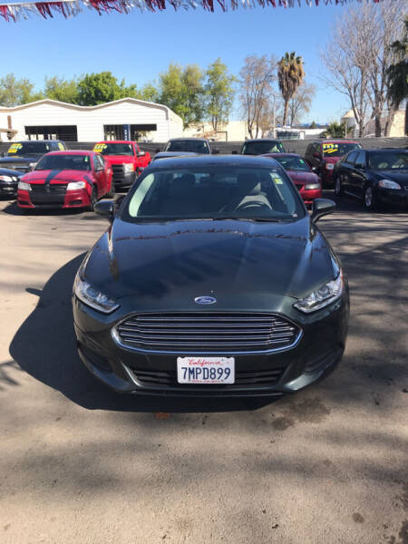 2016 Ford Fusion for sale at EXPRESS CREDIT MOTORS in San Jose CA
