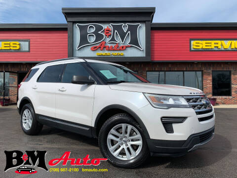 2018 Ford Explorer for sale at B & M Auto Sales Inc. in Oak Forest IL