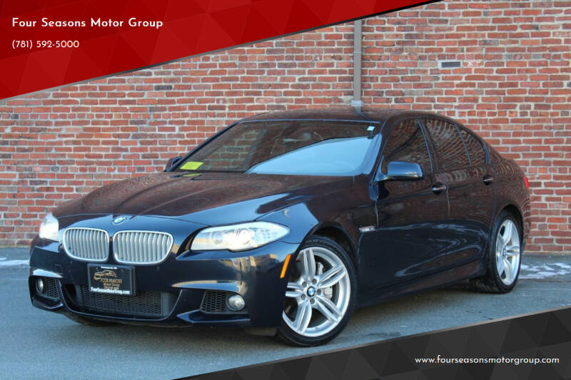 2011 BMW 5 Series for sale at Four Seasons Motor Group in Swampscott MA