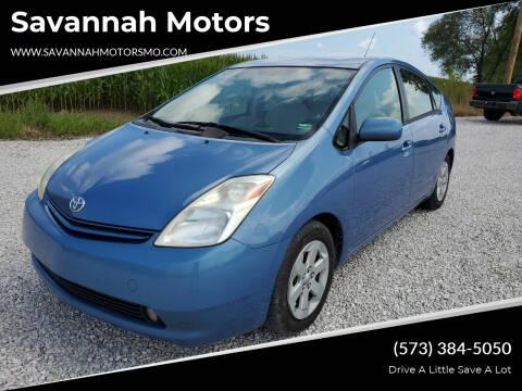 2005 Toyota Prius for sale at Savannah Motors in Elsberry MO
