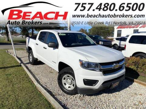 2019 Chevrolet Colorado for sale at Beach Auto Brokers in Norfolk VA