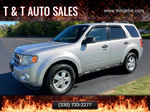 2011 Ford Escape for sale at T & T Auto Sales in Akron OH
