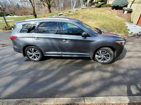 2015 Infiniti QX60 for sale at Mancuso Country Auto in Batavia NY
