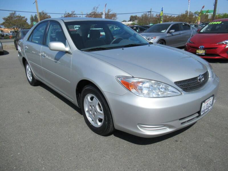 2002 Toyota Camry for sale at Tonys Toys and Trucks in Santa Rosa CA