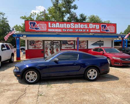 2012 Ford Mustang for sale at LA Auto Sales in Monroe LA