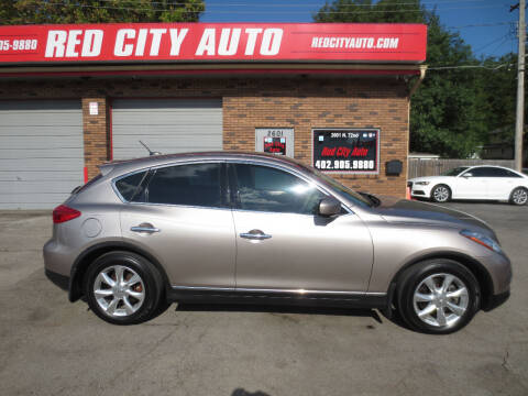 2010 Infiniti EX35 for sale at Red City  Auto in Omaha NE
