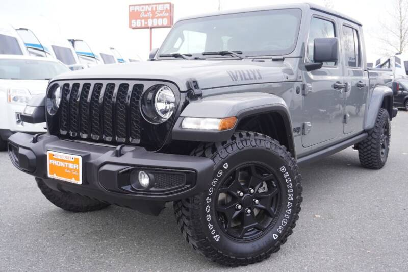 2021 Jeep Gladiator for sale at Frontier Auto & RV Sales in Anchorage AK