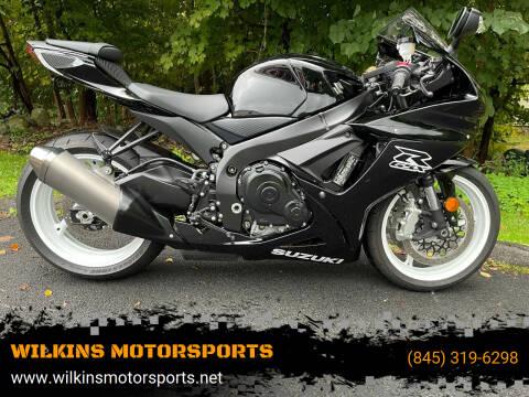 2019 Suzuki GSXR600 for sale at WILKINS MOTORSPORTS in Brewster NY