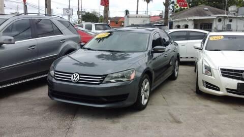2014 Volkswagen Passat for sale at Express AutoPlex in Brownsville TX