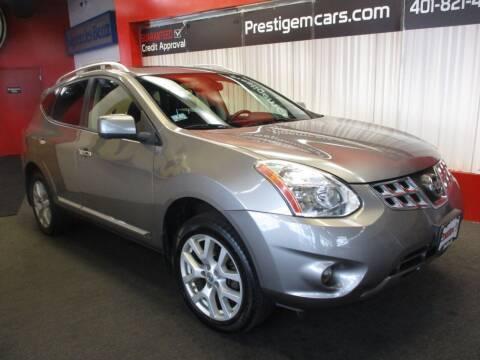 2013 Nissan Rogue for sale at Prestige Motorcars in Warwick RI