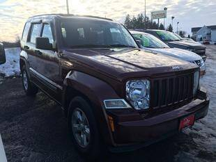 2009 Jeep Liberty for sale at FUSION AUTO SALES in Spencerport NY