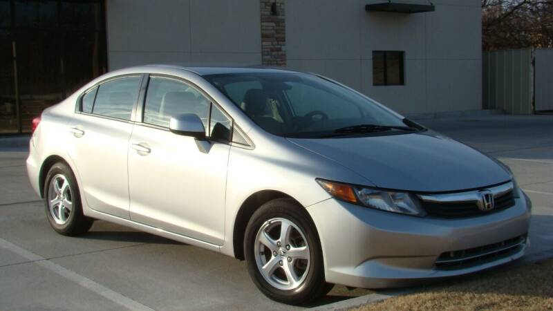 2012 Honda Civic for sale at Red Rock Auto LLC in Oklahoma City OK