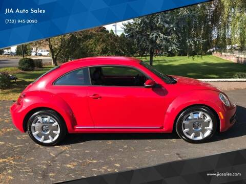 2012 Volkswagen Beetle for sale at JIA Auto Sales in Port Monmouth NJ