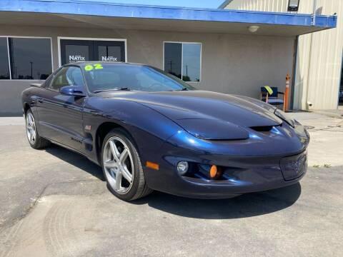 2002 Pontiac Firebird for sale at AUTO NATIX in Tulare CA