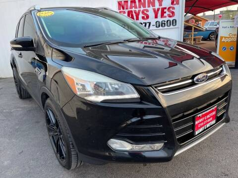 2016 Ford Escape for sale at Manny G Motors in San Antonio TX