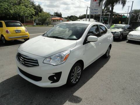 2018 Mitsubishi Mirage G4 for sale at DeWitt Motor Sales in Sarasota FL