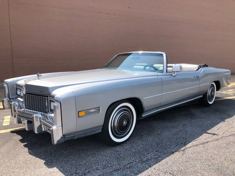 1976 Cadillac Eldorado for sale at CRUMP'S AUTO & TRAILER SALES in Crystal City MO