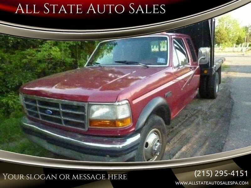 1993 Ford F-350 for sale at All State Auto Sales in Morrisville PA
